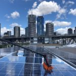 Boonah solar panel cleaning