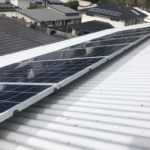 Boonah solar panel bird proofing